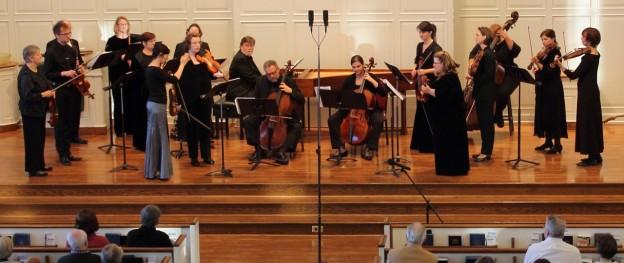 Atlanta Baroque Orchestra playing Jubel!